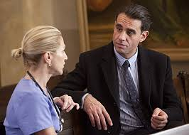 Falco and Cannavale on NURSE JACKIE