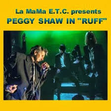 Peggy Shaw in RUFF at LaMama
