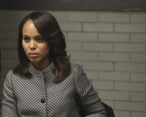 Kerry Washington stars as Olivia Pope on SCANDAL