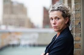 Frances McDormand (photo, New York Times)