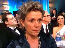 Frances McDormand, unadorned and unimpressed