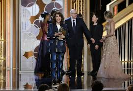Jill Soloway and Jeffrey Tambor win for TRANSPARENT
