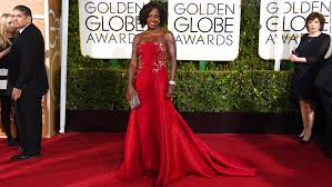 Viola Davis on the carpet