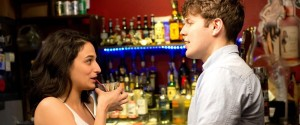 Donna (Slate) and Max (Lacey) at the bar