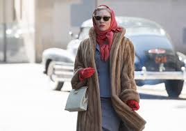 Hiding and projecting desire at once; Blanchett as Carol